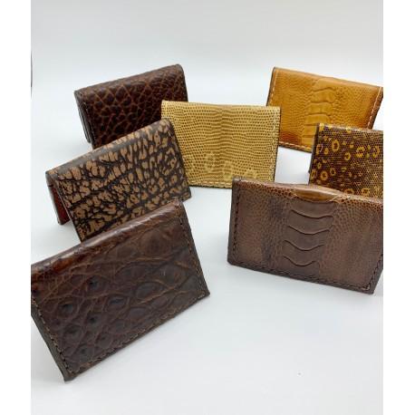 Exotic Skin Minimalist Wallets