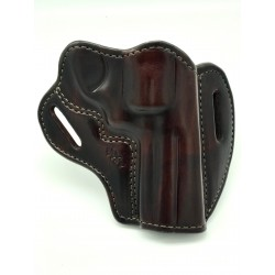 S&W 686 4in/ GP 100 Outside The Waist Holster Mahogany
