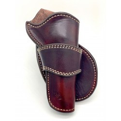 Single Action Peacemaker Crossdraw Holster Mahogany