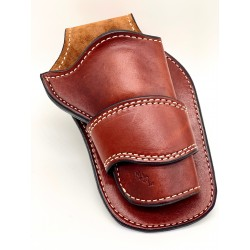 Single Action Peacemaker Holster Tan