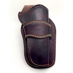 Single Action Peacemaker Holster Mahogany
