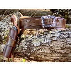 Russet brown Western Rig